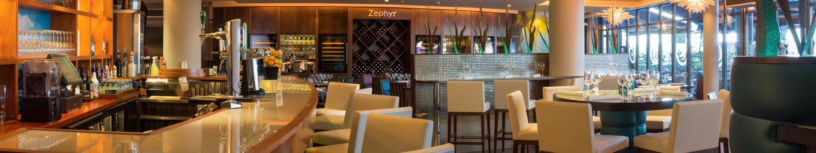 Café Zephyr at <br/>The Royal Yacht