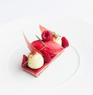 Raspberry -white -chocolate -pink -pepper -tarragon