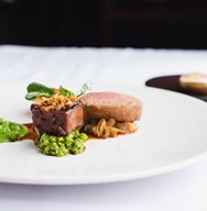 Lamb Loin & Braised Neck – Peas & Roscoff Onion - Preferred -min