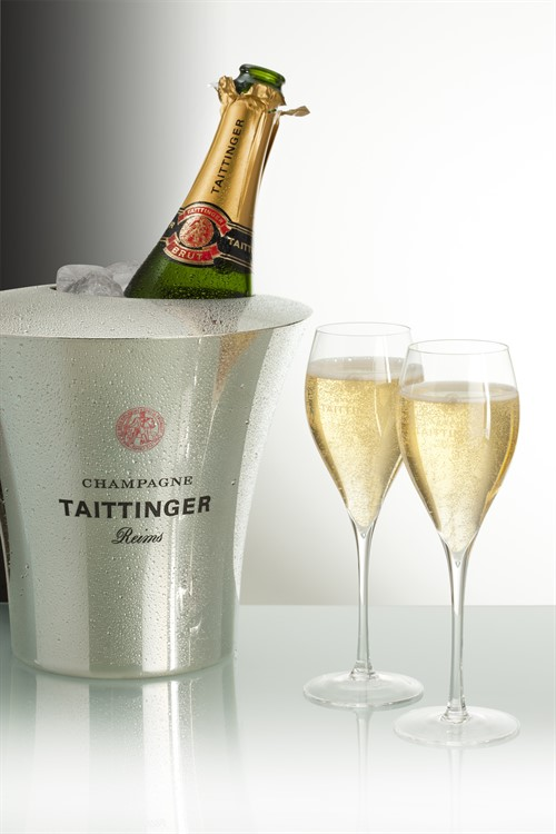 Taittinger -bucket -glasses -white -jpg