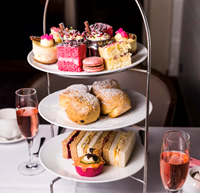 Think pink over afternoon tea at L'Horizon
